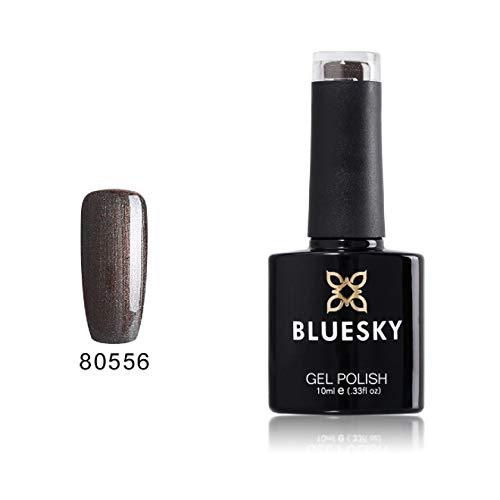 BLUESKY 40556 deurmat bruin sparkle- UV LED Gel Soak Off nagellak 10 ml