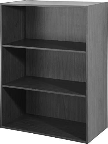 Librero organizador Florencia con 2 estantes (Chocolate)