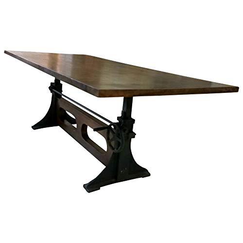 Table de salle à manger en bois massif 220 x 100 cm