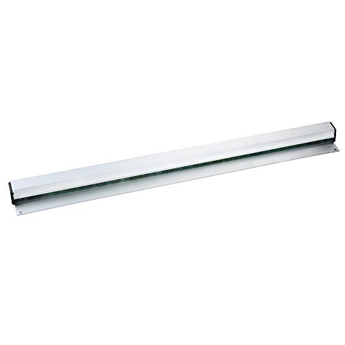 Womdee Aluminium Order Tab Grabbers - Wall Mounted Slide Check Rack Aluminum Food Bill Ticket Holder Perfect for Kitchen, Restaurant, Cafe, Pub and Bar - 12 16 20 24 Inch