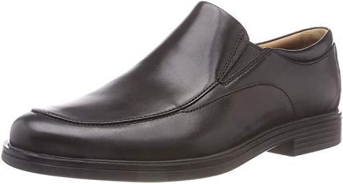 Clarks Herren Un Aldric Walk Derbys, Schwarz (Black Leather), 43 EU