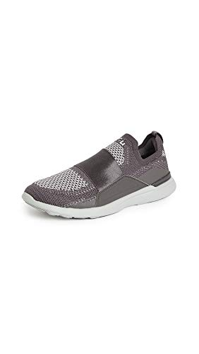 APL: Athletic Propulsion Labs Women's Techloom Bliss Sneakers, Asteroid/Plaster, Grey, 5.5 Medium US