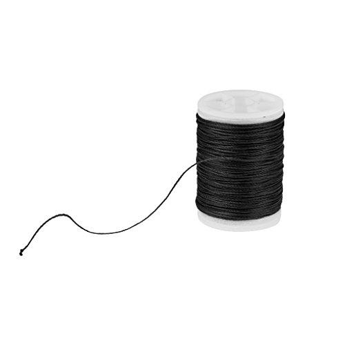 MagiDeal 110m Sehnengarn - Bow String - Wickelgarn Bogenschießen - Schwarz
