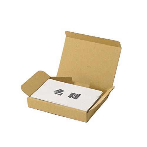 アースダンボール ダンボール 段ボール 小型 名刺サイズ 発送 10枚 封筒専用 【94×64×13mm】【0409】