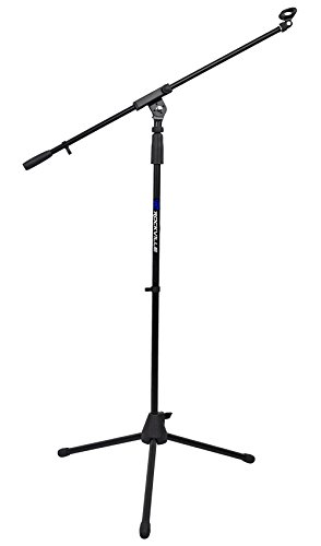 Rockville RVMIC1 Microphone Mic Stand With Boom & Tripod Base (Amazing Quality!)