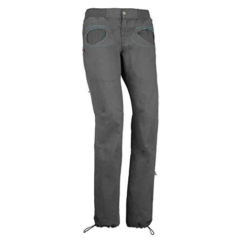 E9 Onda Slim 2 Hose Damen Iron Größe M 2020 Lange Hose