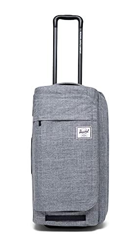 Herschel Wheelie Outfitter Luggage Raven Crosshatch