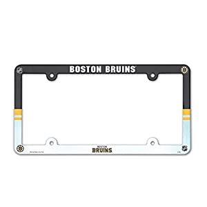 NHL License Plate with Full Color Frame