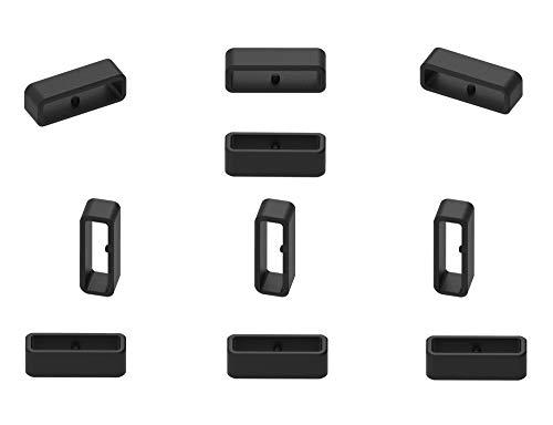 Ruentech - Anilla de Cierre de Repuesto compatible con polar Vantage M GPS Smartwatch (10 Unidades)