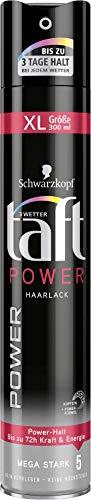 Schwarzkopf 3 Wetter taft Haarspray Power mega starker Halt 5, 6er Pack (6 x 300 ml)