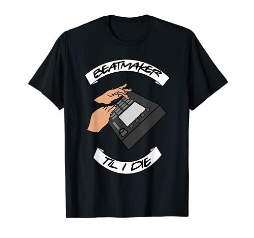 Beatmaker til i Die Contrôleur de musique Hip Hop T-Shirt