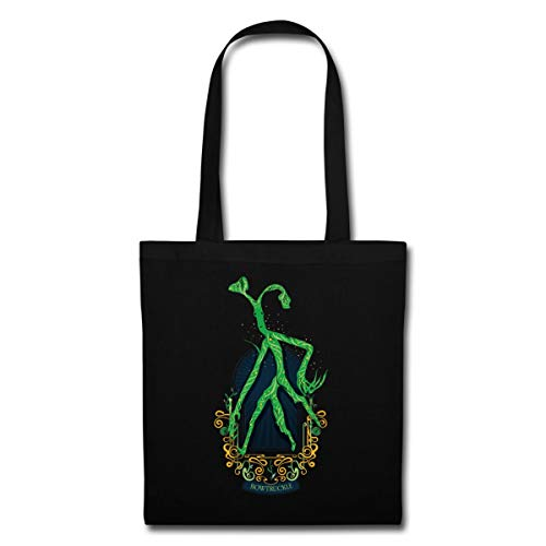 Spreadshirt Fantastic Beasts Bowtruckle Tote Bag, black