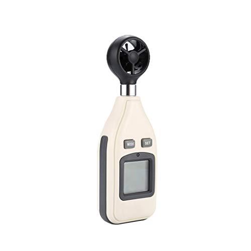 Windmesser Digital Anemometer Anemometer Digitaler Handheld Windmesser Digital LCDWind Speed Meter Gauge PräZise Messung Der Windgeschwindigkeit für Windsurfen/Kite/Fliegen