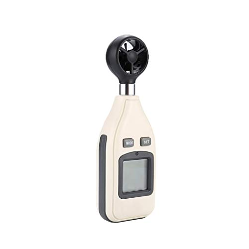 pb+ Anemometer Digitaler Handheld Windmesser Digital LCD Wind Speed Meter Gauge PräZise Messung Der Windgeschwindigkeit für Wetterdaten und Outdoor-Sport Windsurfen Segeln