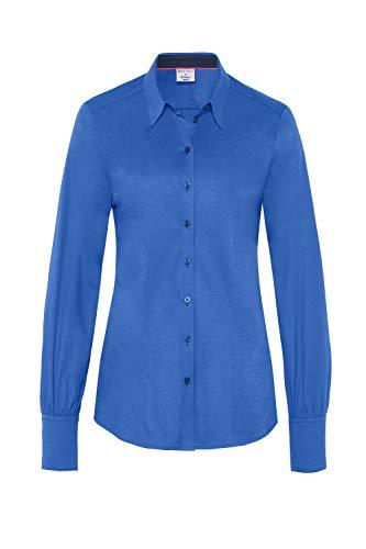 DESOTO Essentials - Blusa para mujer azul eléctrico 44