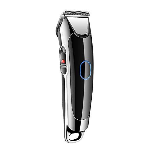 Ensemble d'outils de Coupe de Cheveux pour Hommes Sans Fil, Tondeuse Electrique Portable Durable, Lavable, Convient aux Coiffeurs