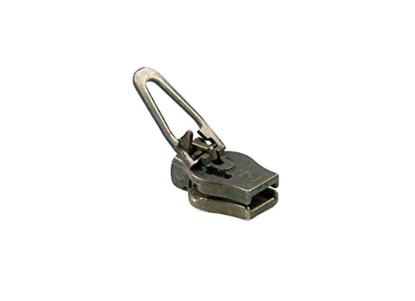 ZlideOn zipper 4c-2-2, old-brass