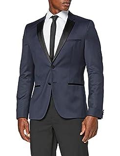 HUGO Men's Alinzs Suit Jacket, Blue (Dark Blue 401), 26 (Size: 52) (B07PQ891DG)   Amazon price tracker / tracking, Amazon price history charts, Amazon price watches, Amazon price drop alerts