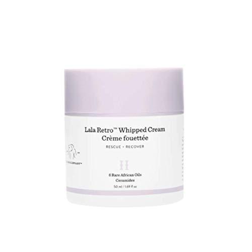 Drunk Elephant Lala Retro Whipped Cream. Replenishing Moisturizer for Skin Protection and Rejuvenation. 1.69 Ounce. - Lala Whipped Cream 50 Milliliters