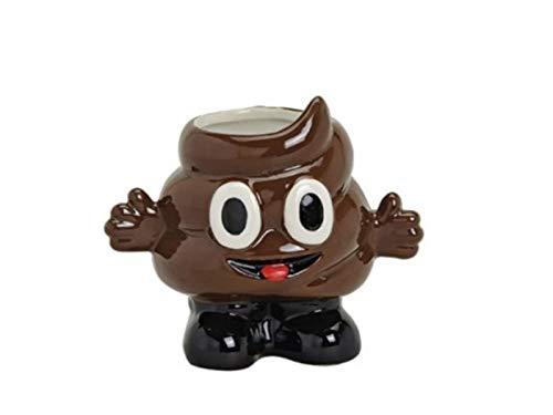 meindekoartikel 1x Gute Laune Tasse SCHEIßHAUFEN Kaffeebecher Teebecher Keramik h12cm / 410ml