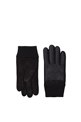 ESPRIT Accessoires Herren 107EA2R002 Handschuhe, Grau (Dark Grey 020), Large