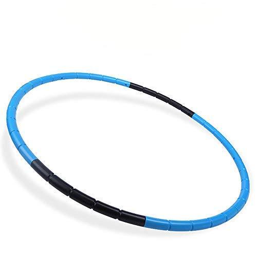 Kids Fitness Hoop - Weight & Size Adjustable- Body Building Plastic Children Gymnastics Toys- Diameter 26.5 Inches