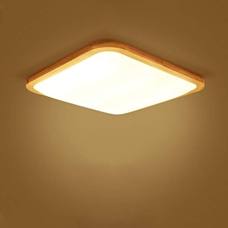 Holz Deckenleuchte Led Jinwell Lampe Holz Watt 31 Cm 71