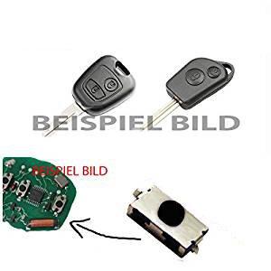 Micro interrupteurs pour télécommande de clés pour Citroen C1, C2, C3, Xsara 2, Saxo, Berlingo