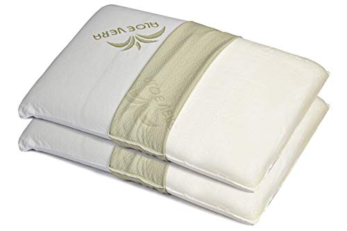 EcoDream - Cervical Memory Foam Pillows, 100% Made in Italy