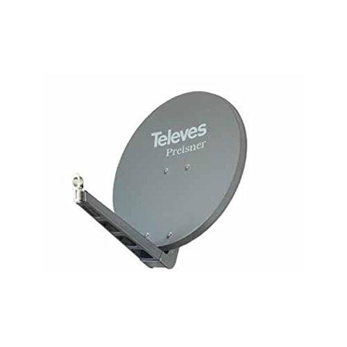 Televes S75QSD-G 10.7 - 12.75GHz Graphit Satellitenantenne - Satellitenantennen (10,7 - 12,75 GHz, 38,5 dBi, 8,5 kg, Graphit, Aluminium)