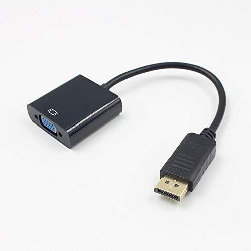 SHANGH Displayport a VGA Gran DP a VGA Cable Adaptador DLLE DP Cable Adaptador
