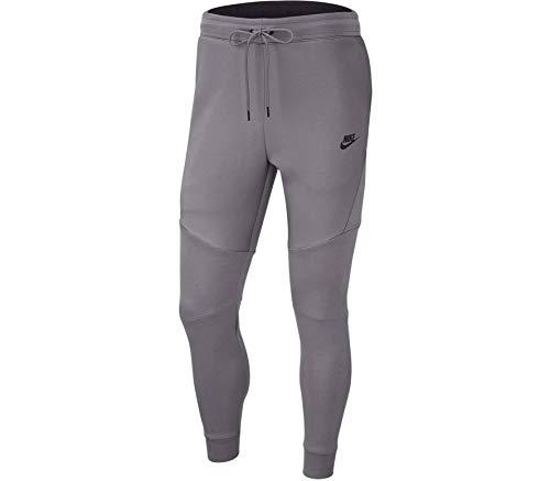 NIKE Men's Sportswear Tech Fleece Jogger Pantalones, Hombre, Gunsmoke/Black, 2XL