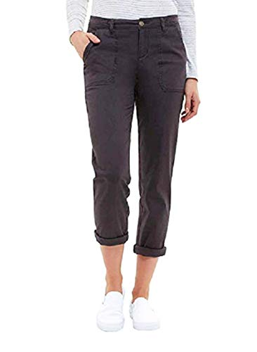 Jones New York Ladies Chino Pant, (Variety) (6, Charcoal)
