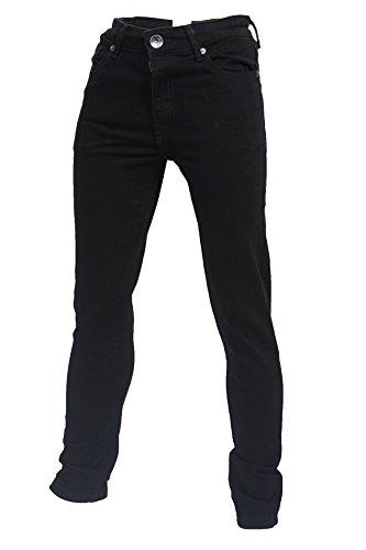 jongens skinny stretch slank zwart jeans leeftijd 7 naar 13