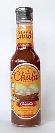 Salsa piccante Messicana 'La Chula'. Bottiglia da 150ml. Chipotle.