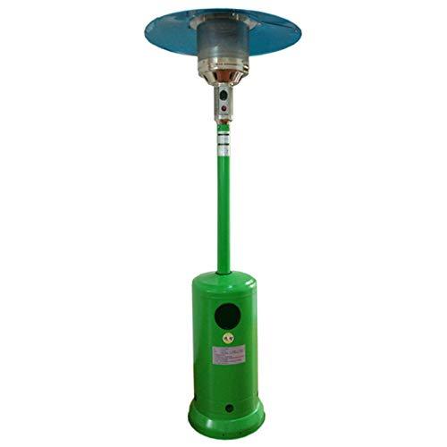 JINBAO Heizung Vertikaler Regenschirm Im Freien Hellgrün Gasheizung Heizofen Heizofen Energieeinsparung Und Umweltschutz