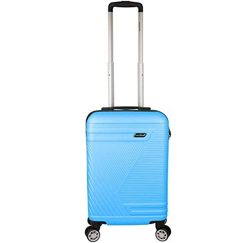 Mala Pequena de Bordo (10 kg) para Viagem Rígida em ABS com Rodas Duplas 360º - Padrão Anac - Doha - Santino