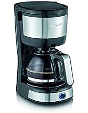 SEVERIN Koffiezetapparaat, compact design, geborsteld roestvrij staal/zwart, KA 4808