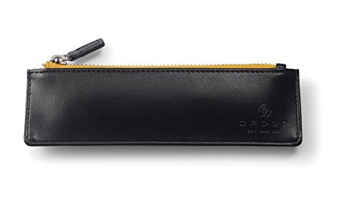 Cross AC-282-1 Stifte Etui mit TrackR Bravo Klassik Geschenkset Die erste Stifttasche mit einem mobilen Ortungsgerät Schwarz