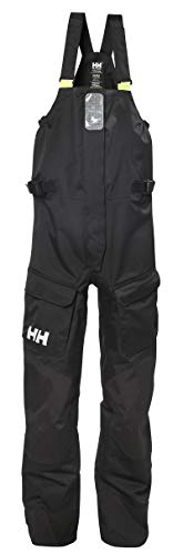 Helly-Hansen Women's Newport Waterproof Lined Rain Pants, Ebony, X-Large
