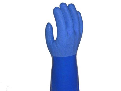 TRUE BLUES Large Blue True Rubber Gloves, 1 EA