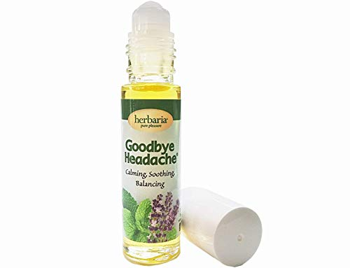 Herbaria Goodbye Headache® All-Natural with Essential Oils and Jojoba Oil Roll-On Application for Soothing Tension Headaches. Free Shipping $49 Orders.Enjoy Our Other Skin-Friendly Products.