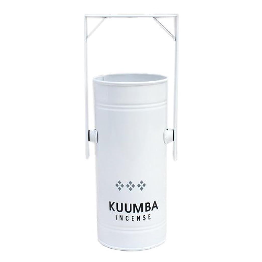 すぐにリーク石膏KUUMBA (クンバ)『INCENSE BURNER-Regular』(WHITE) (ONE SIZE, WHITE)