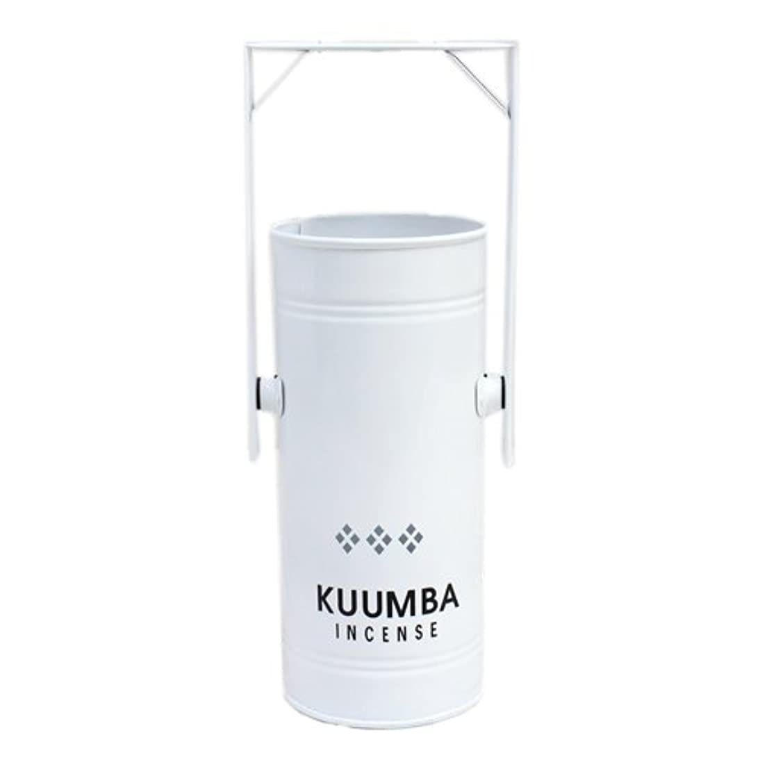 法廷ベックスおめでとうKUUMBA (クンバ)『INCENSE BURNER-Regular』(WHITE) (ONE SIZE, WHITE)