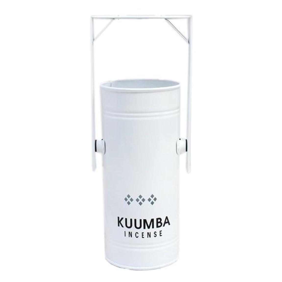 おもちゃ盆元気KUUMBA (クンバ)『INCENSE BURNER-Regular』(WHITE) (ONE SIZE, WHITE)