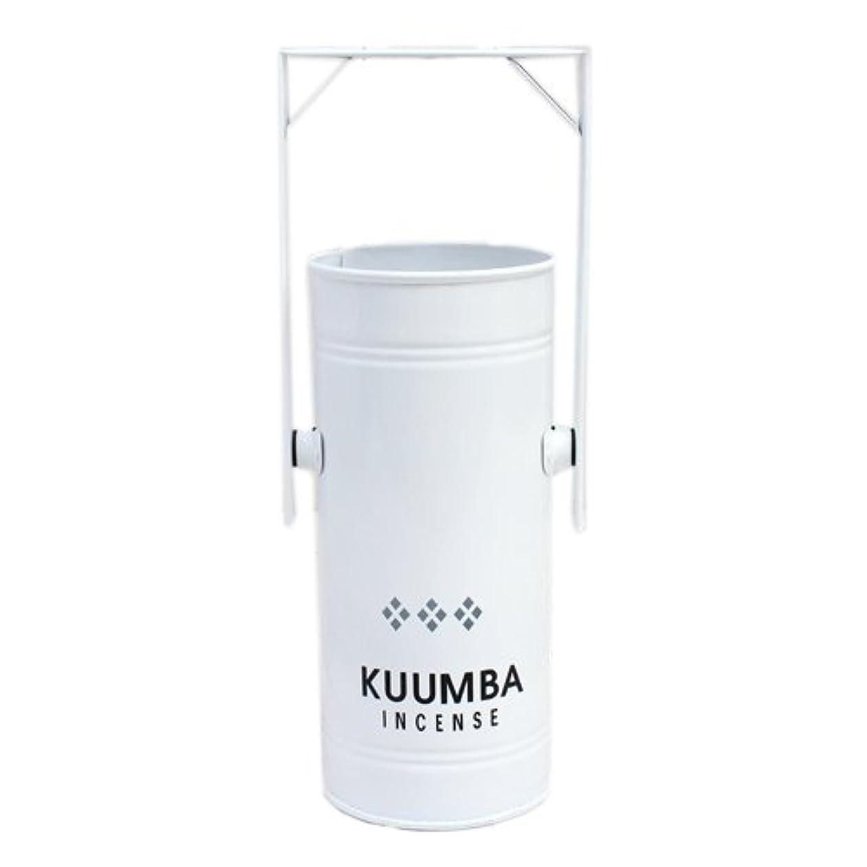 クレーン洗練彫るKUUMBA (クンバ)『INCENSE BURNER-Regular』(WHITE) (ONE SIZE, WHITE)