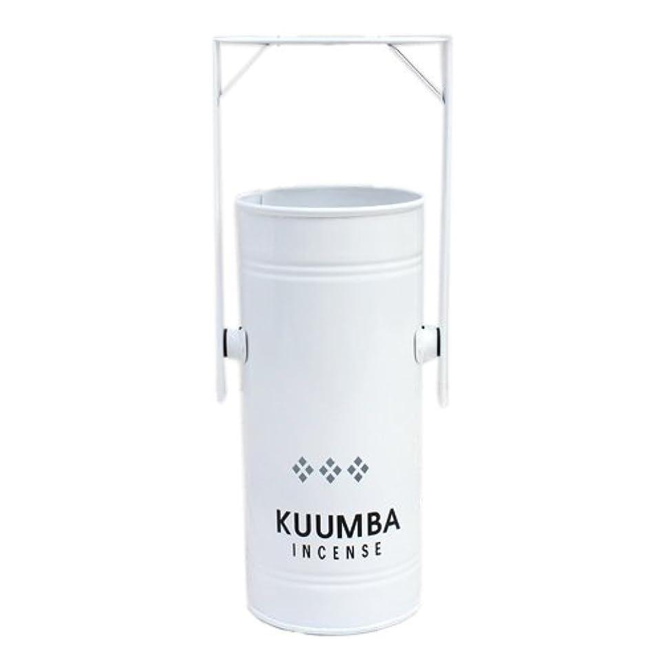 恐れるピーク魅力的KUUMBA (クンバ)『INCENSE BURNER-Regular』(WHITE) (ONE SIZE, WHITE)