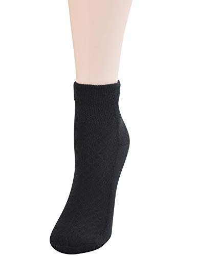 buy  Yomandamor 5 Pairs Women's Cotton Ankle ... Diabetes Care
