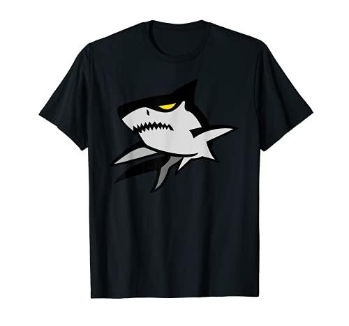 Tiburón Ojo Amarillo Fresco Camiseta