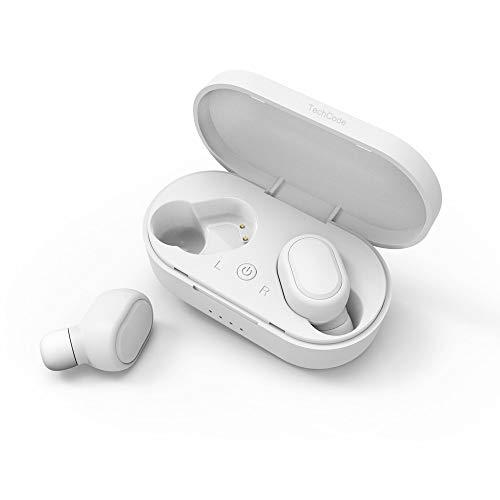 Buy Discount Mini Bluetooth Earpieces,TechCode True Wireless Earbuds Bluetooth In-ear Stereo Earphon...